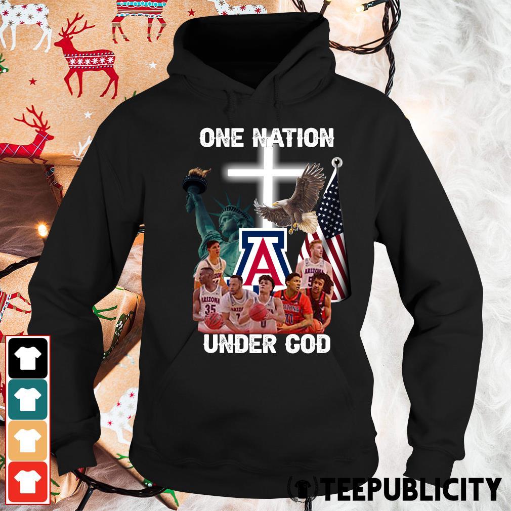 Arizona Wildcats one nation under God s hoodie