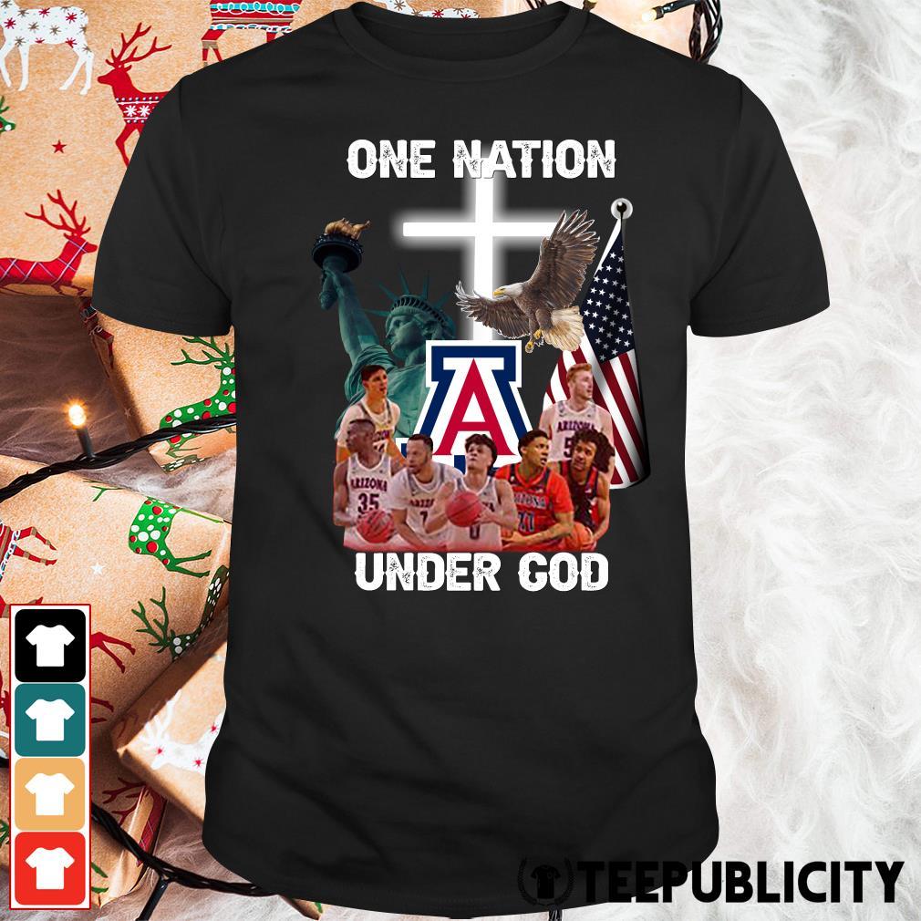 Arizona Wildcats one nation under God shirt