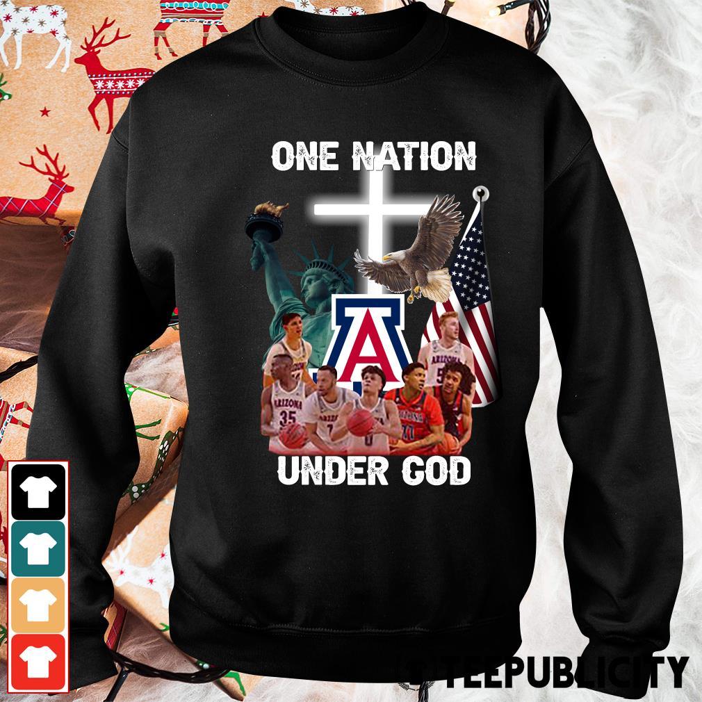 Arizona Wildcats one nation under God s sweater