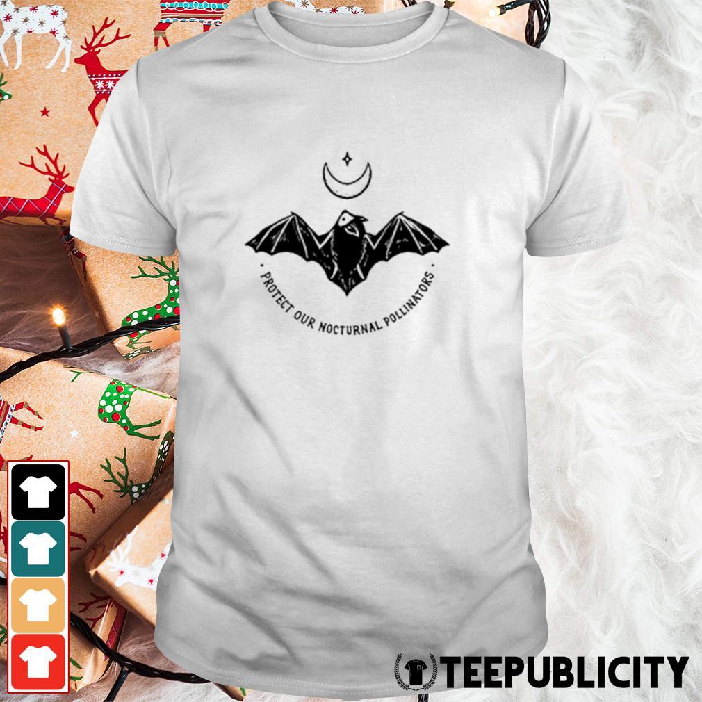 Bat protect our nocturnal pollinators shirt