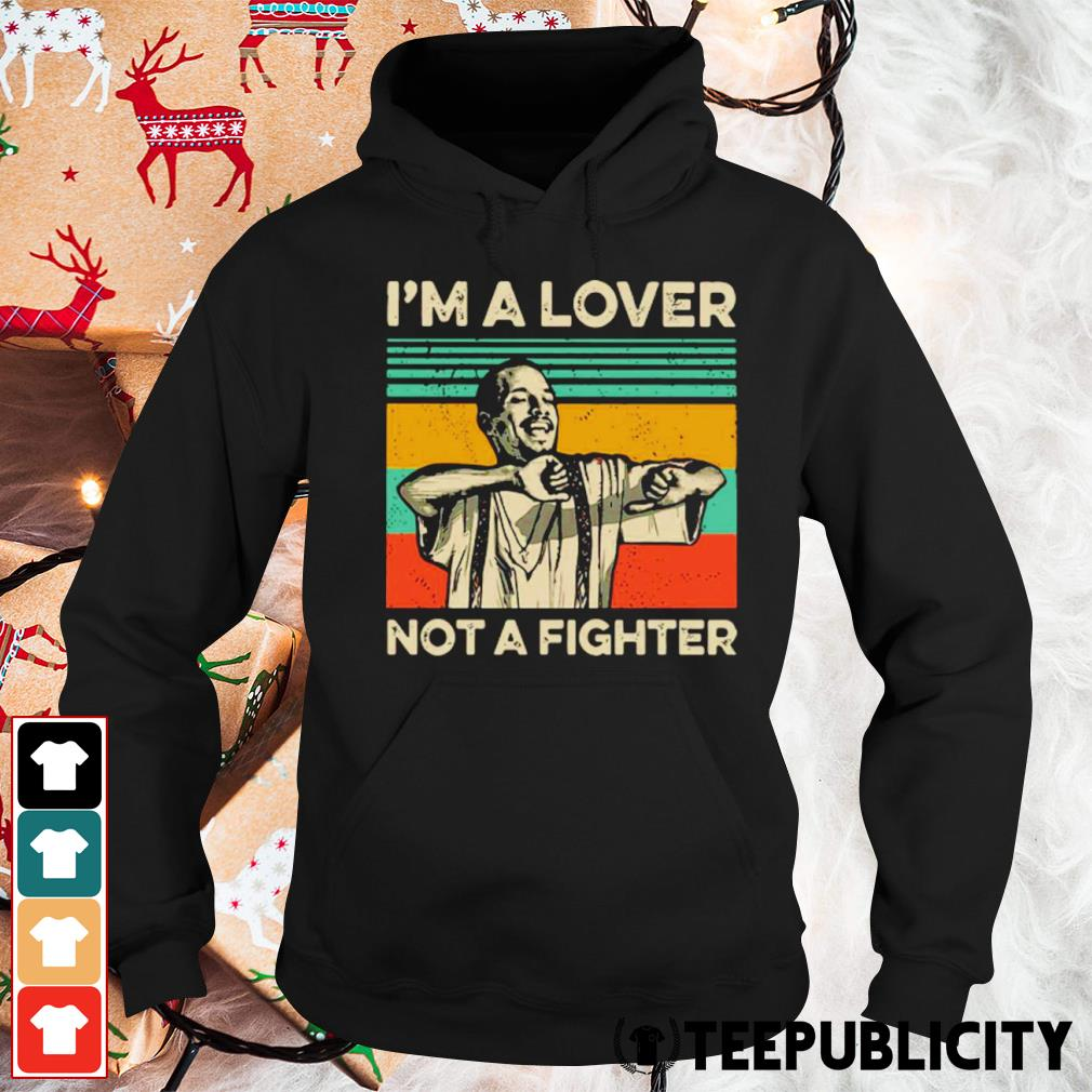 Blood in Blood Out Cruzito I'm a lover not a fighter vintage s hoodie