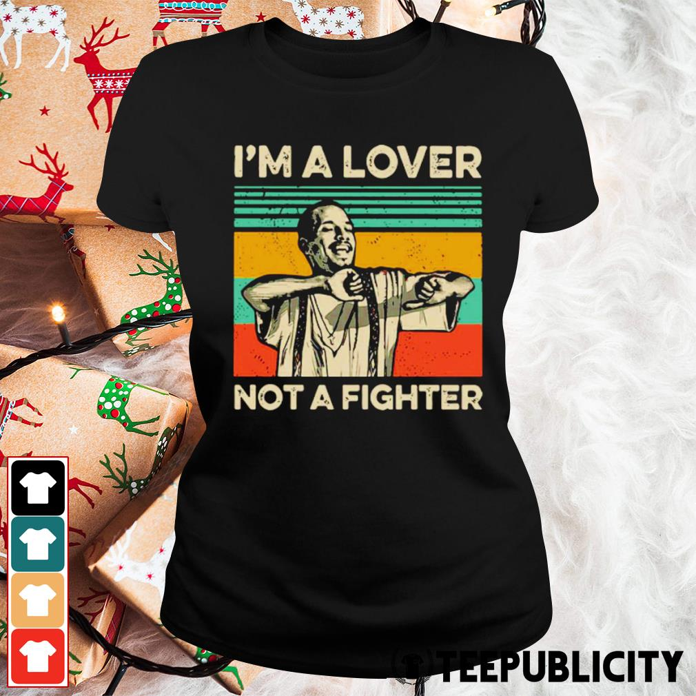 Blood in Blood Out Cruzito I'm a lover not a fighter vintage s ladies-tee