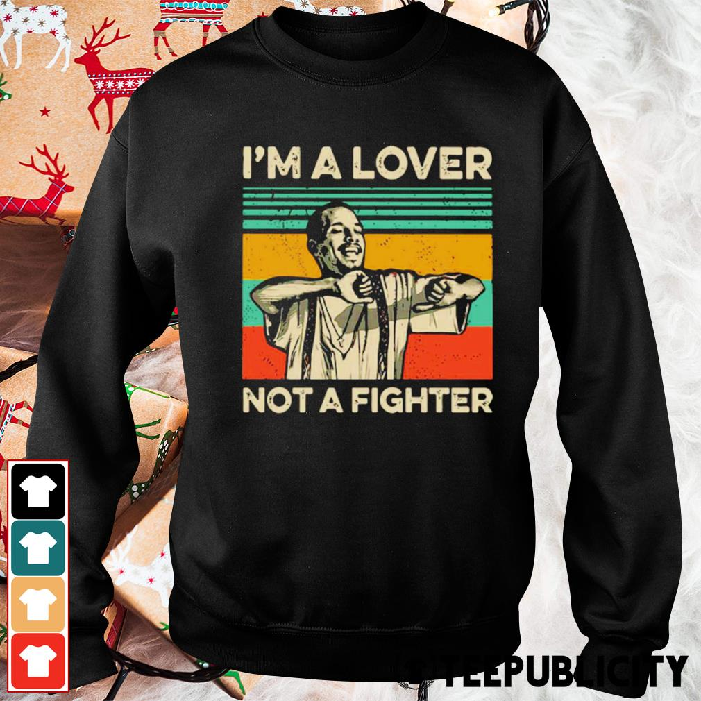 Blood in Blood Out Cruzito I'm a lover not a fighter vintage s sweater