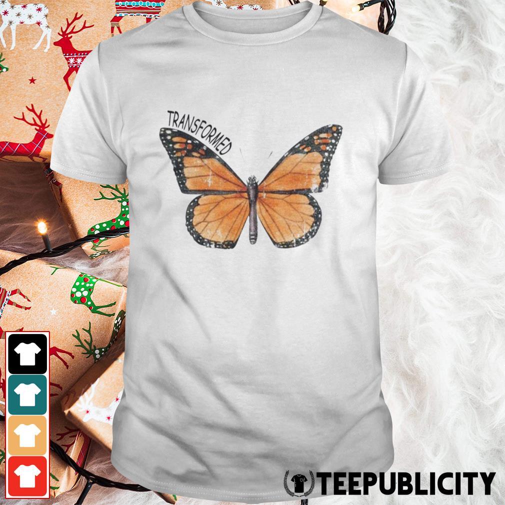 Butterfly transformed shirt