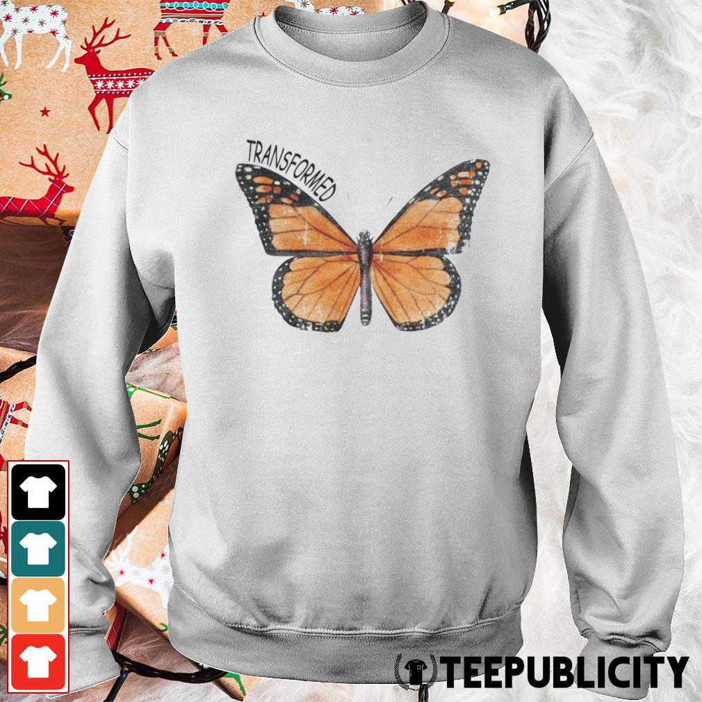 Butterfly transformed s sweater