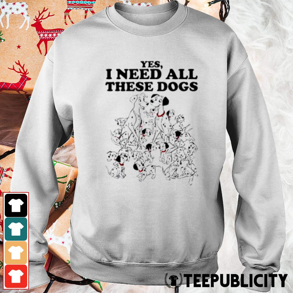 Disney 101 Dalmatians yes I need all these dogs s sweater