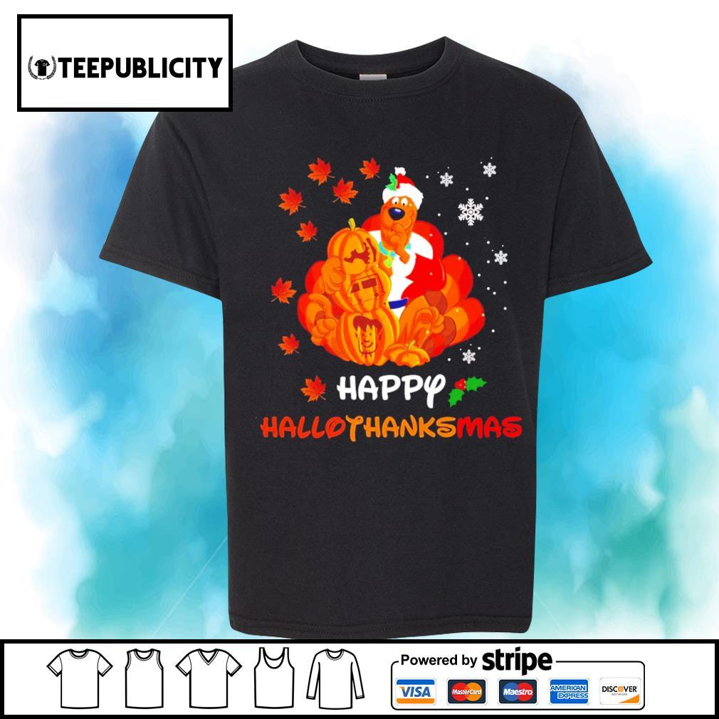 Scooby Doo Happy Hallothanksmas shirt