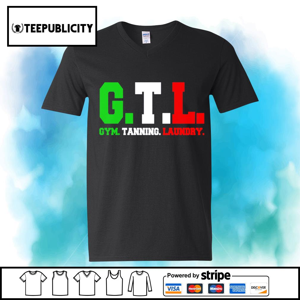 GTL gym tanning laundry s youth-tee