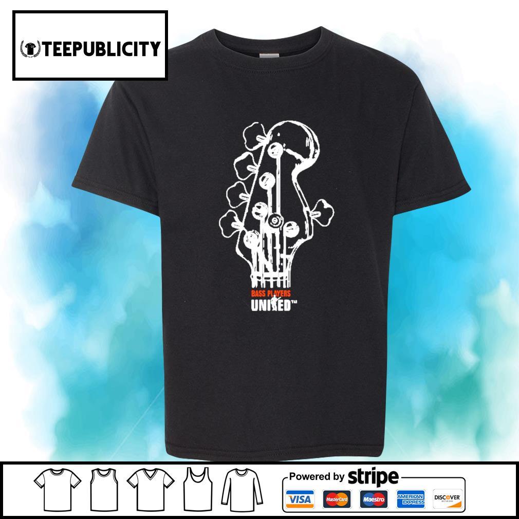 Guitar Bass players United TM shirt