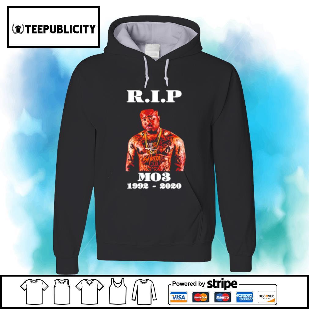 RIP MO3 1992-2020 s hoodie
