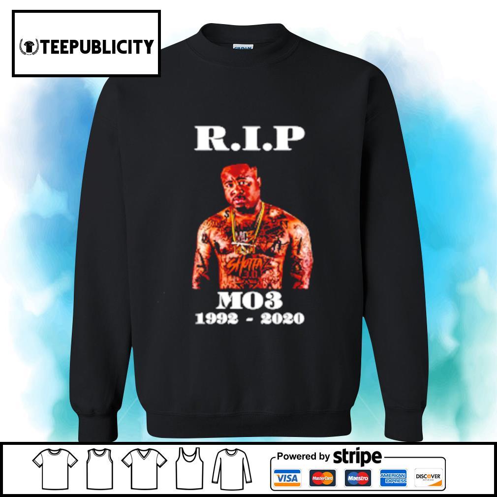 RIP MO3 1992-2020 s sweater