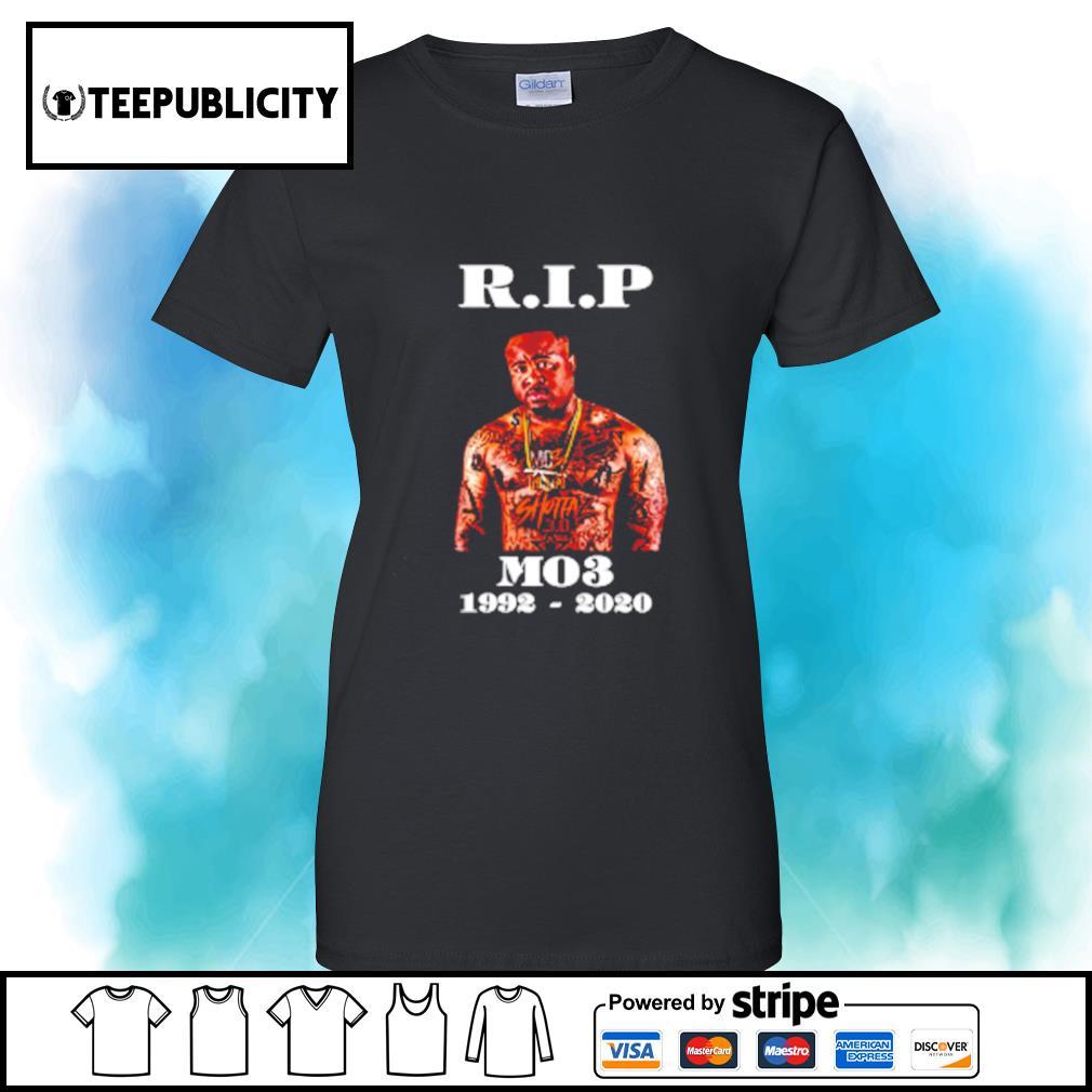 RIP MO3 1992-2020 s v-neck-t-shirt