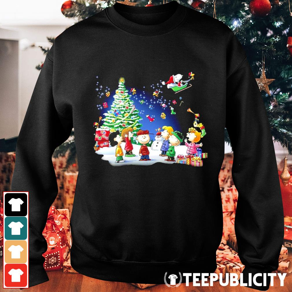 Snoopy Santa Claus Peanuts characters Christmas s sweater