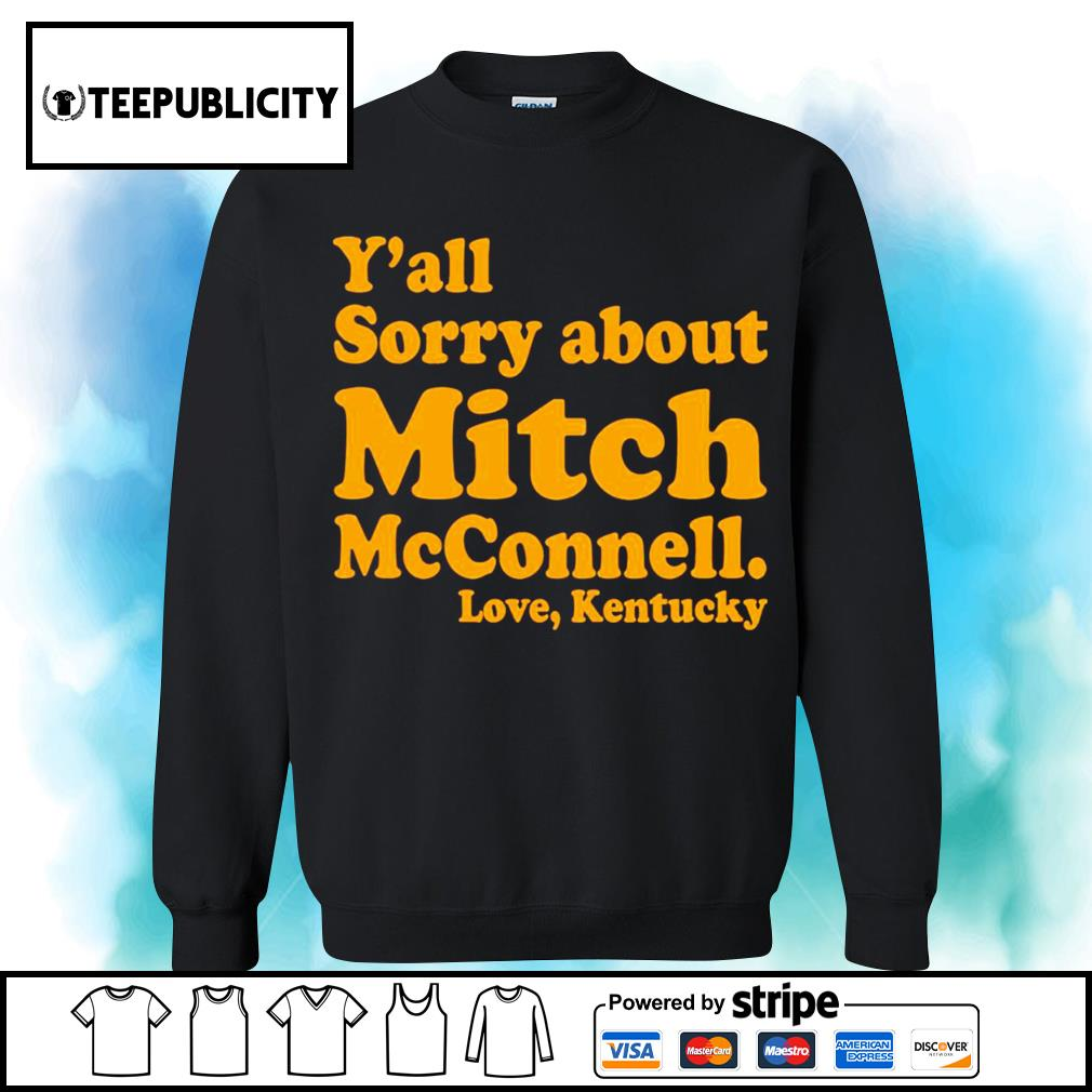 Y'all sorry about Mitch McConnell love Kentucky s sweater