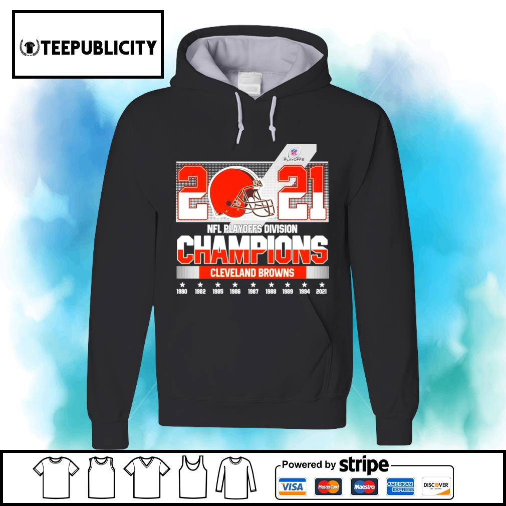 2021 NFL Playoffs Division Champions Cleveland Browns s hoodie