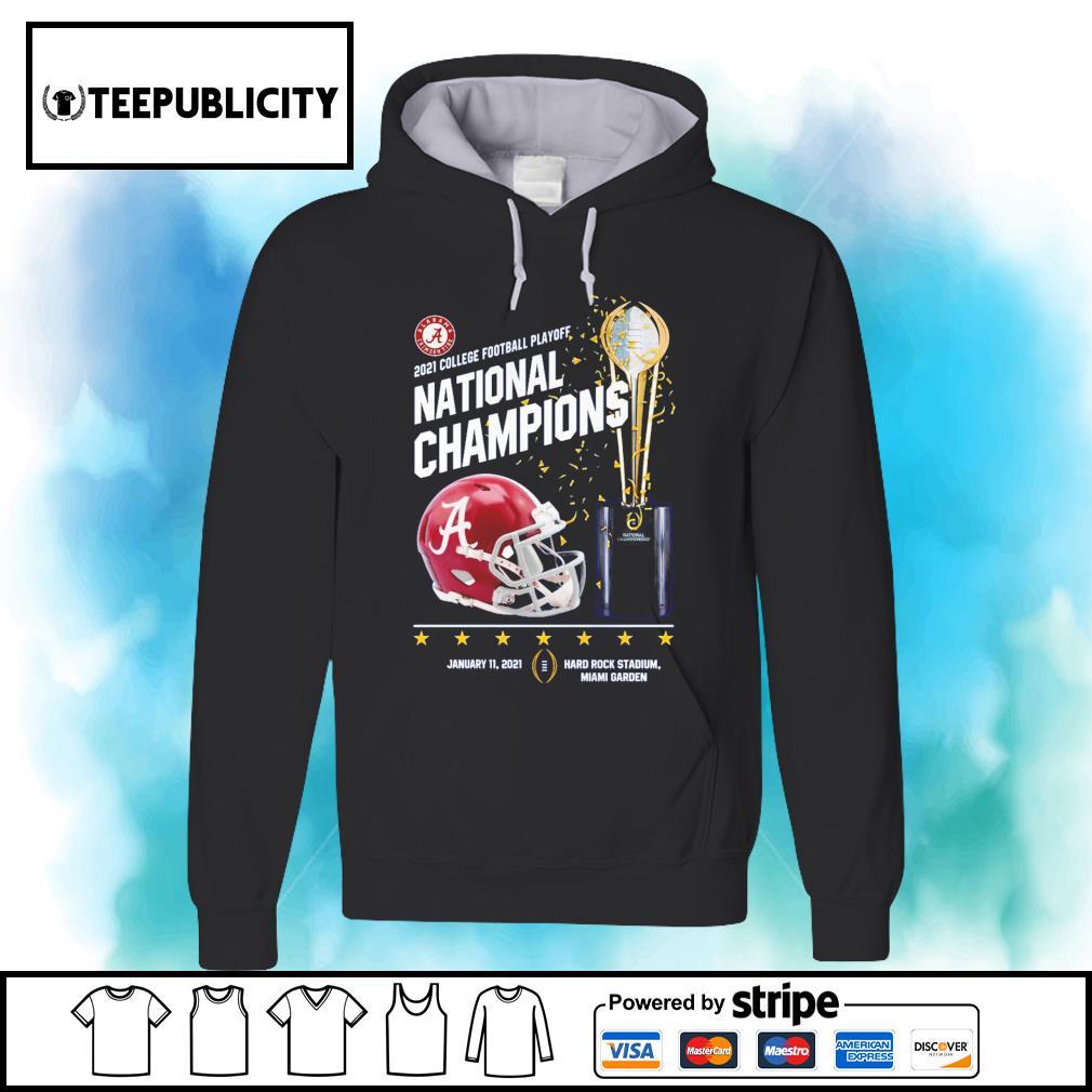 Alabama Crimson Tide 2021 college football playoff National Champions Alabama 52 Ohio State 24 s hoodie