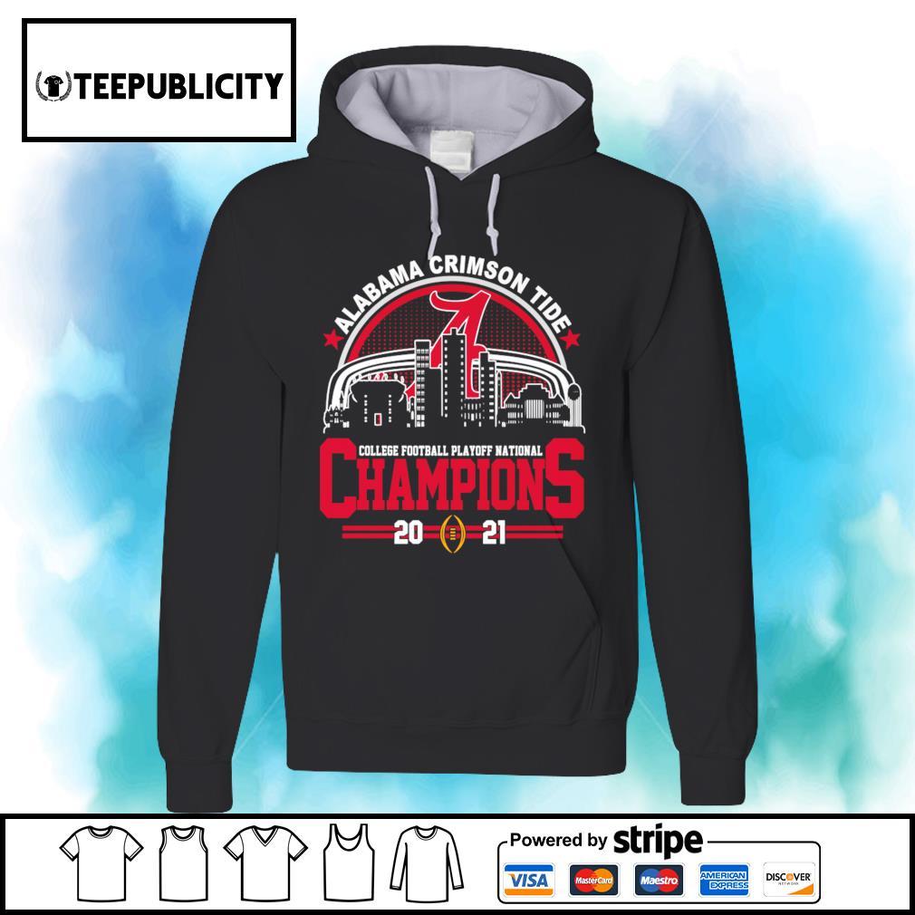 Alabama Crimson Tide college football playoff National Champions 2021 52 24 Ohio State s hoodie