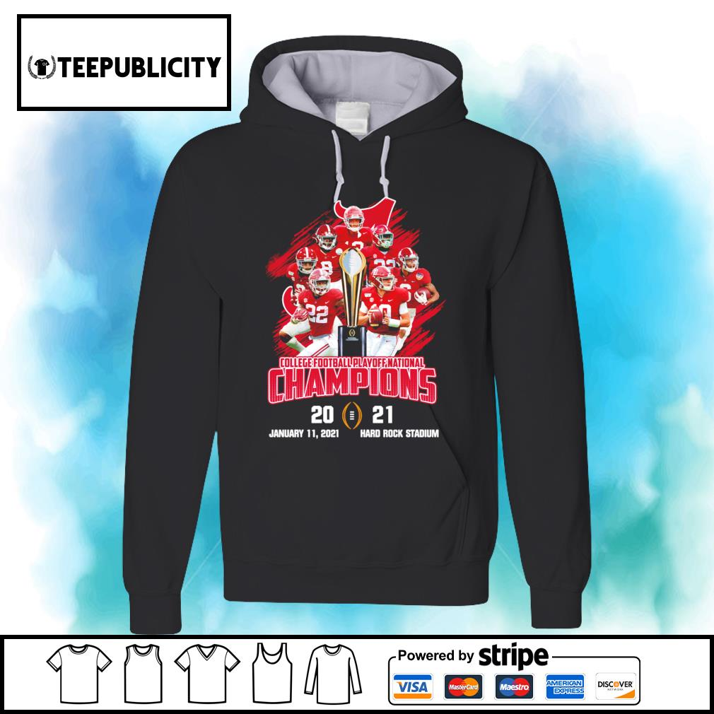 Alabama Crimson Tide players college football playoff National Champions 2021 52 24 Ohio State s hoodie