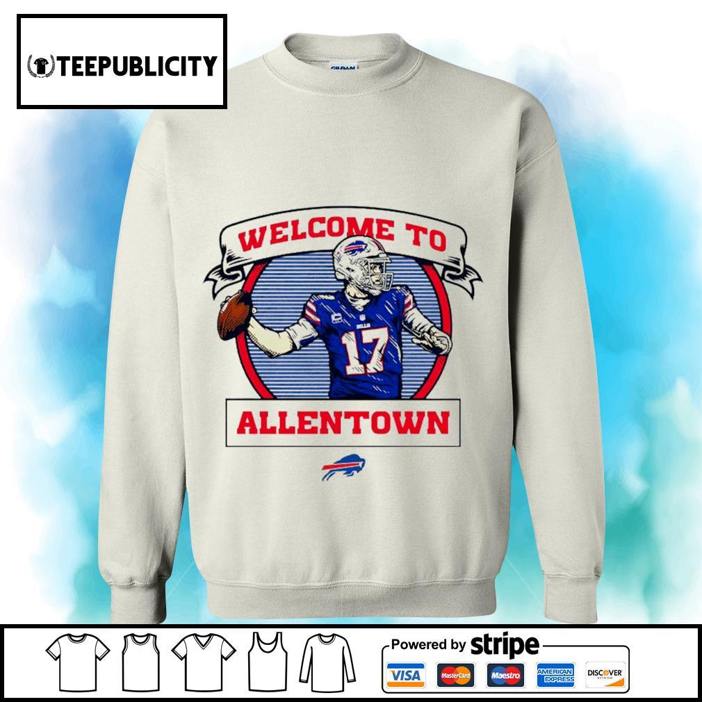 Buffalo Bills Josh Allen welcome to Allentown s sweater