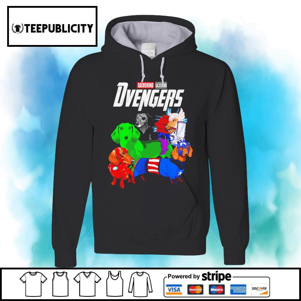 Dachshund Dvengers Marvel Avengers s hoodie