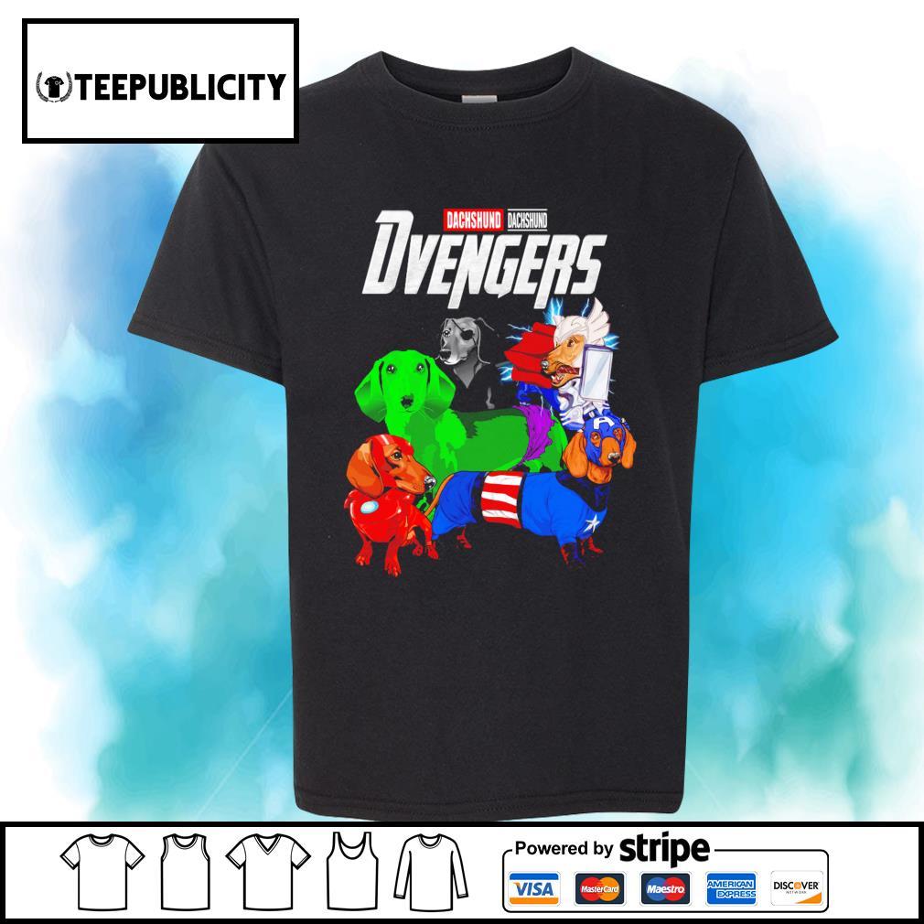 Dachshund Dvengers Marvel Avengers shirt