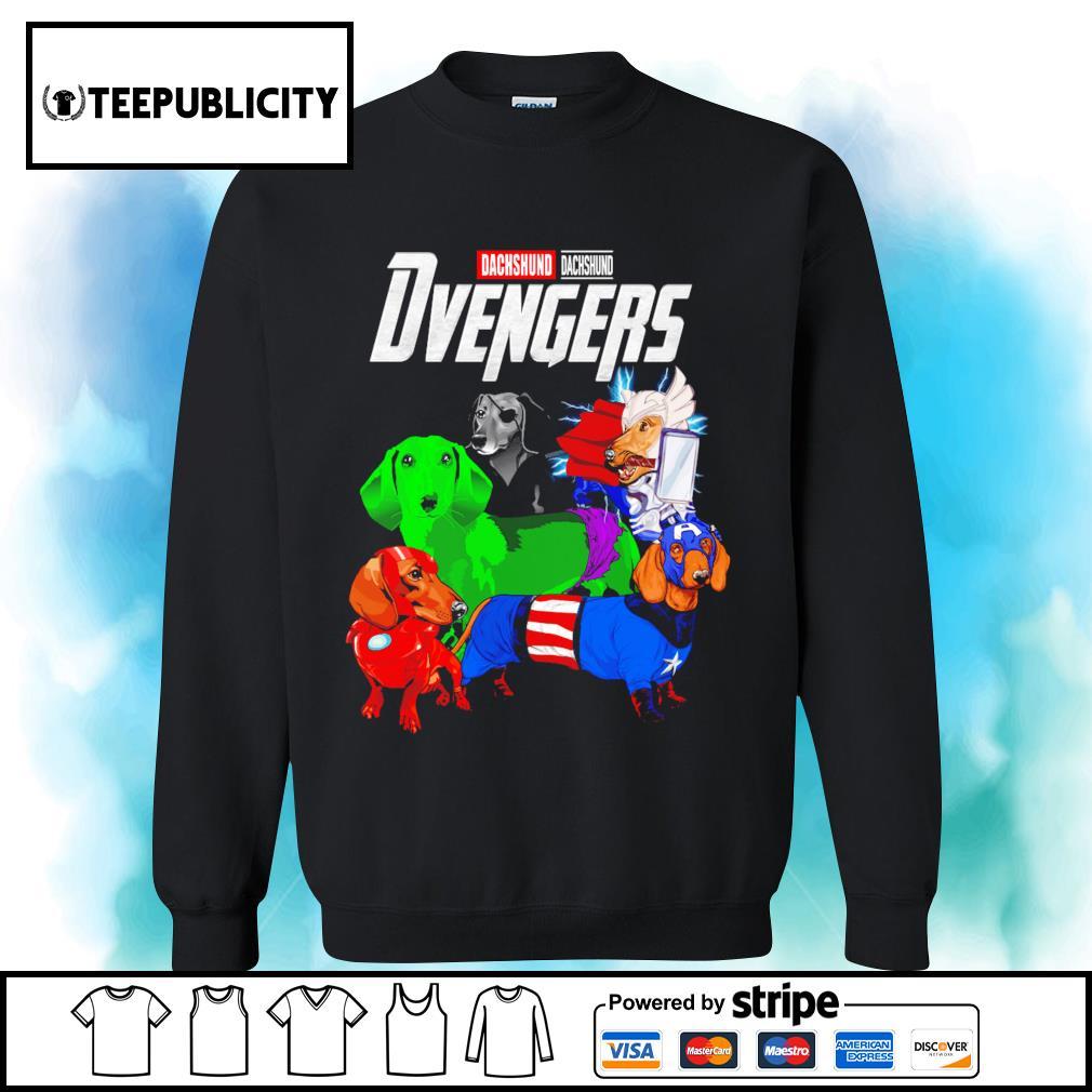 Dachshund Dvengers Marvel Avengers s sweater