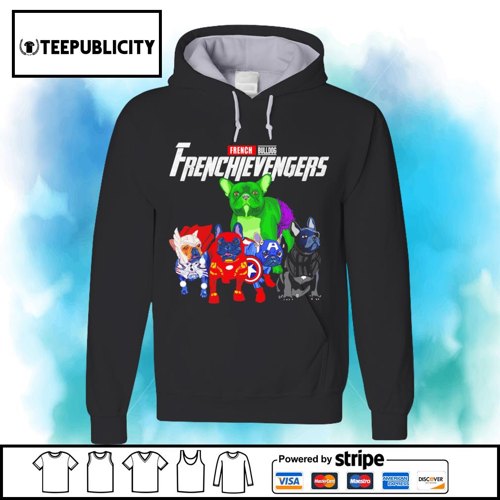French Bulldog Frenchievengers Marvel Avengers s hoodie