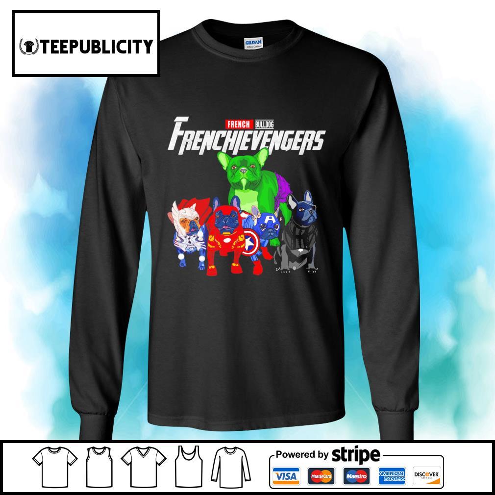 French Bulldog Frenchievengers Marvel Avengers s longsleeve-tee