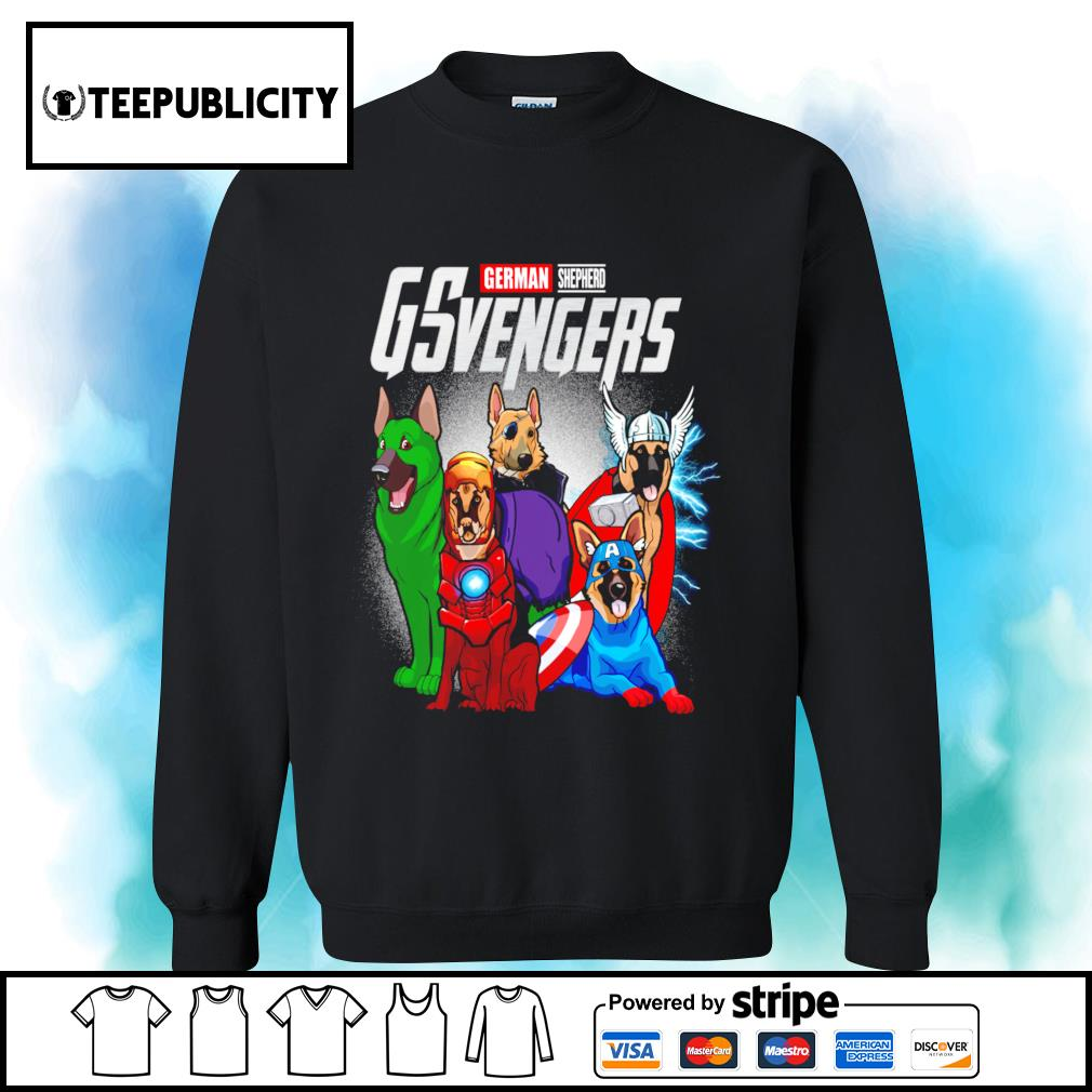 German Shepherd GSvengers Marvel Avengers s sweater