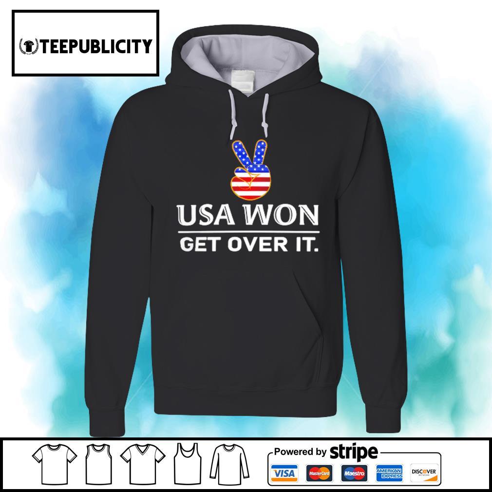 Joe Biden Inauguration day USA won get over it s hoodie