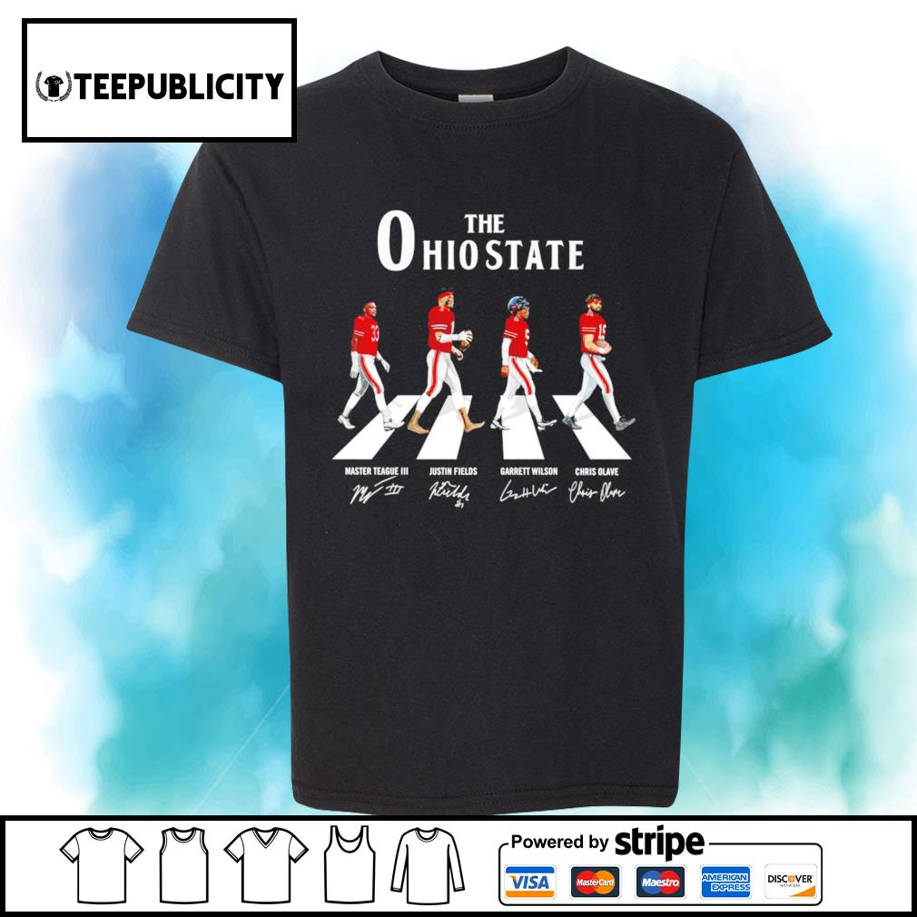 The Ohio State Buckeyes Abbey Road signatures shirt